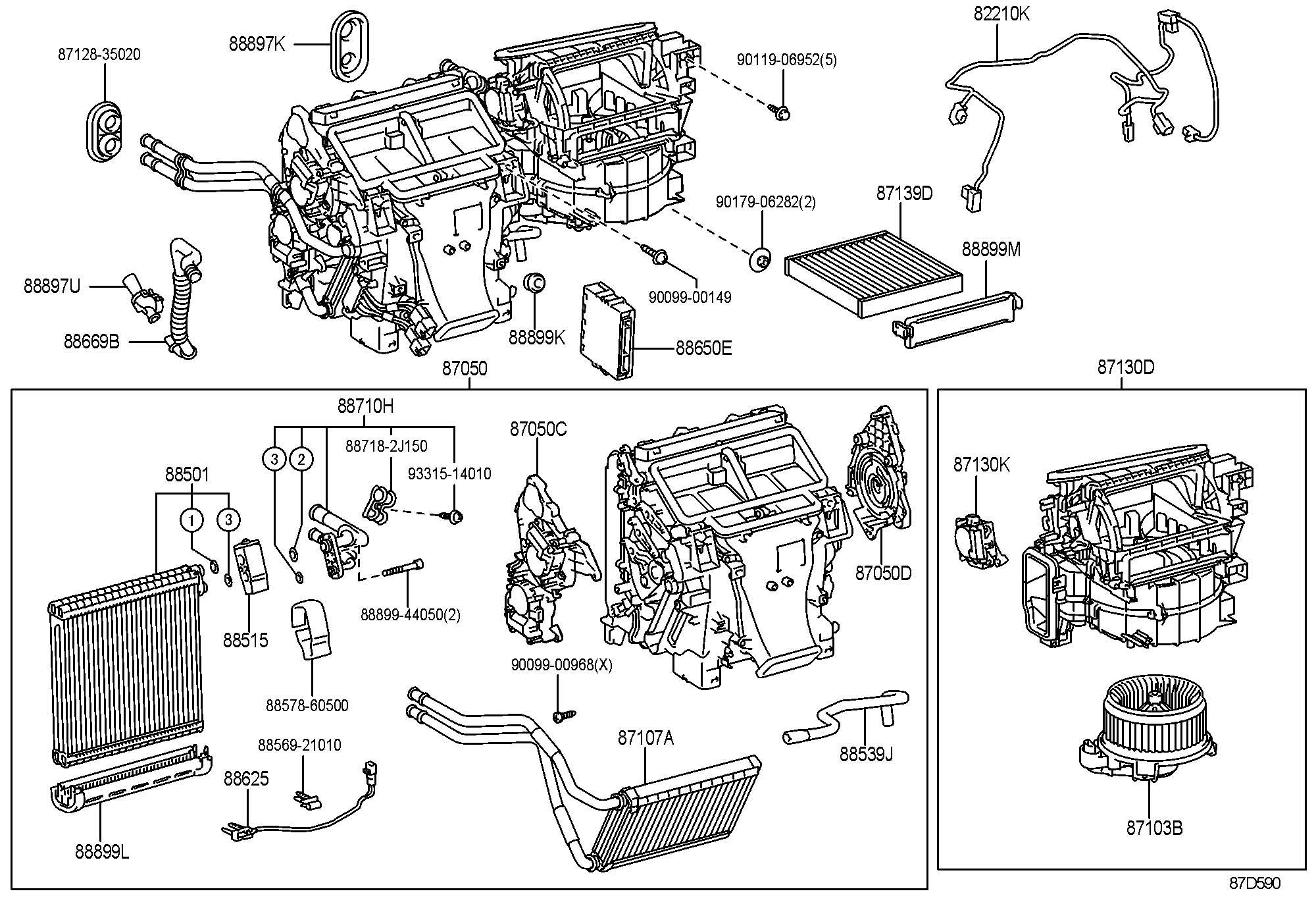 Lexus Heating Amp Air Conditioning