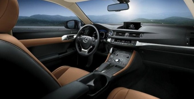 2019 Lexus CT 200h Interior
