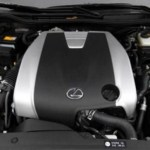2019 Lexus IS350 F Sport Engine