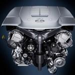 2021 Lexus LS Engine