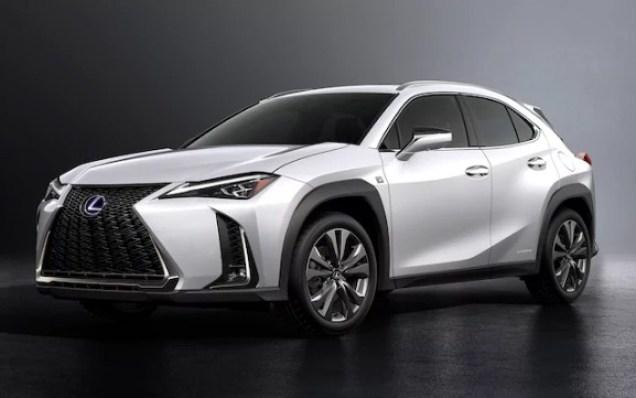 2019 Lexus UX Exterior