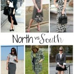 North v. South: Black & White Combo