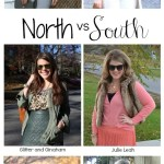 North vs. South: Monochrome