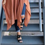 Perfect Draped Sweater Poncho