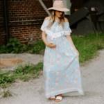 Tassel Trim Maxi Dress