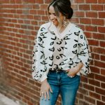 Leopard Color-Block Jumper