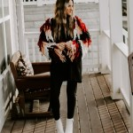 How To Style A Shaggy Cardigan