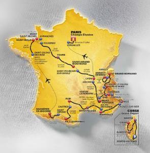 Parcours du Tour de France 2013