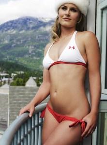 Lindsey Vonn charmante