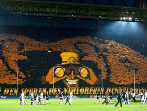 Le public impressionnant du Borussia Dortmund