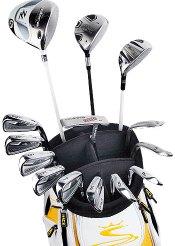 Les différents clubs de golf