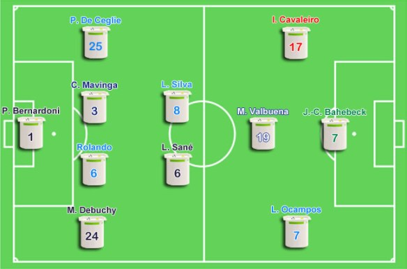 Le onze de plomb de Ligue 1 2015-2016