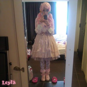 Over the top sweet lolita