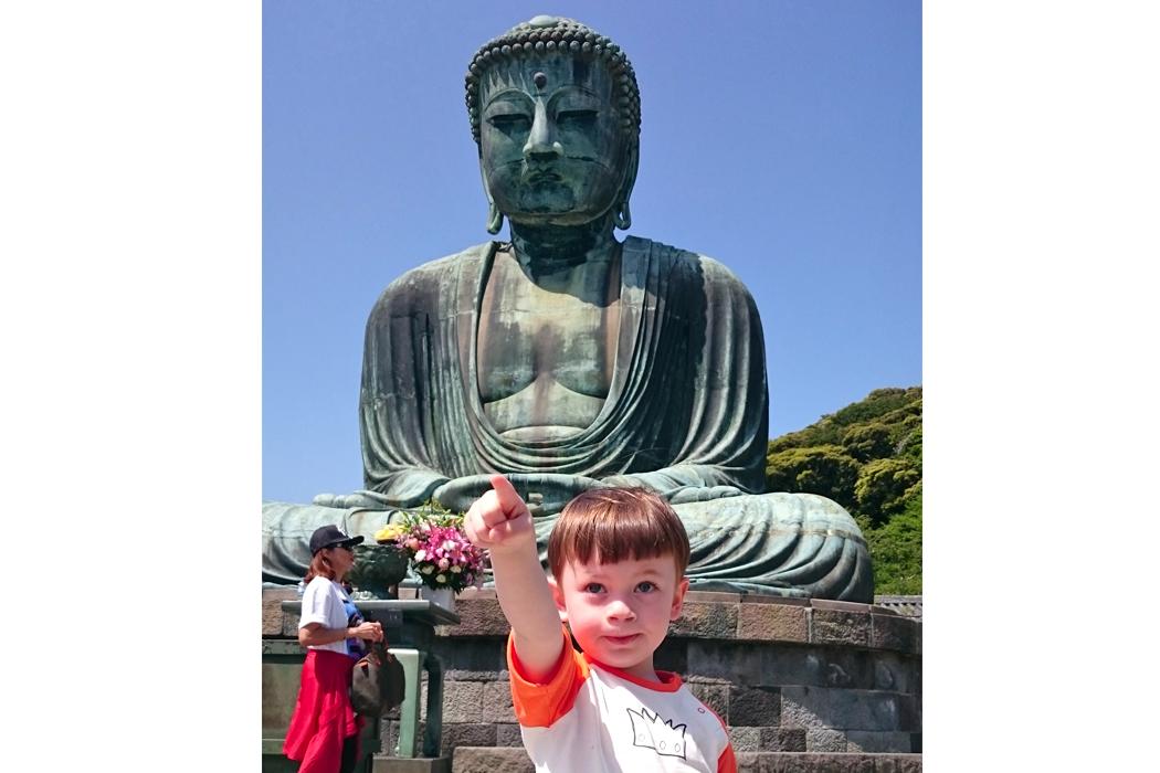 Favoriete plaats Japan - Kamakura met kinderen