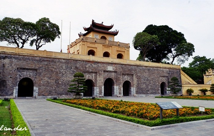 Visiting the Imperial Citadel of Thang Long in Hanoi, Vietnam