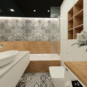 Ванная в студии