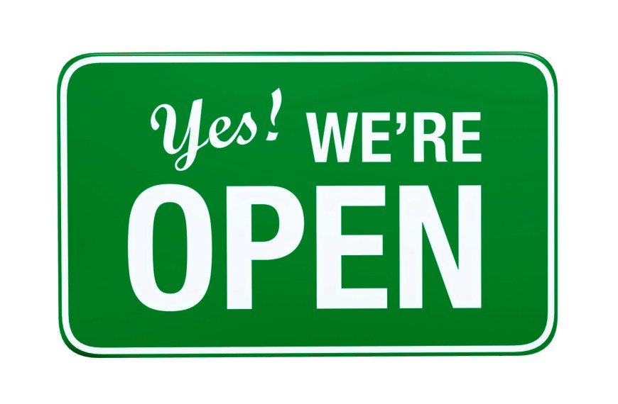 Covid-19: We're open, but New Measures on site