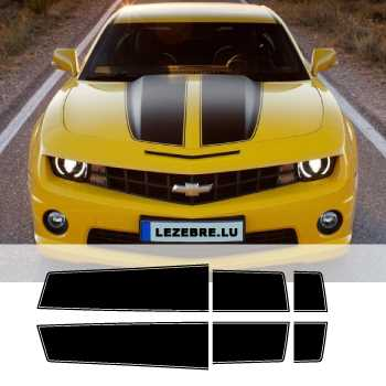 Chevrolet Camaro Style Transformers Stripes Stickers Set Hood Trunk