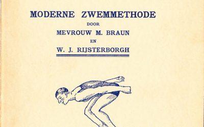 Hoe leer ik snelzwemmen? : moderne zwemmethode – M. Braun en W.J. Rijsterborgh (1934)