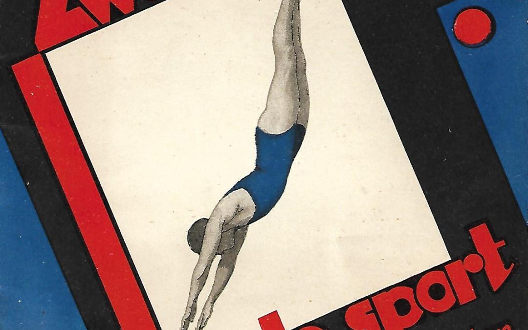 S.P.J. Borsten – Zwemmen! de ideale sport : handleiding voor de diverse zwemslagen met illustraties (1934)