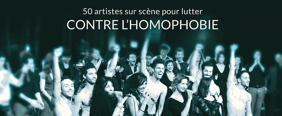 Des artistes contre l'homophobie