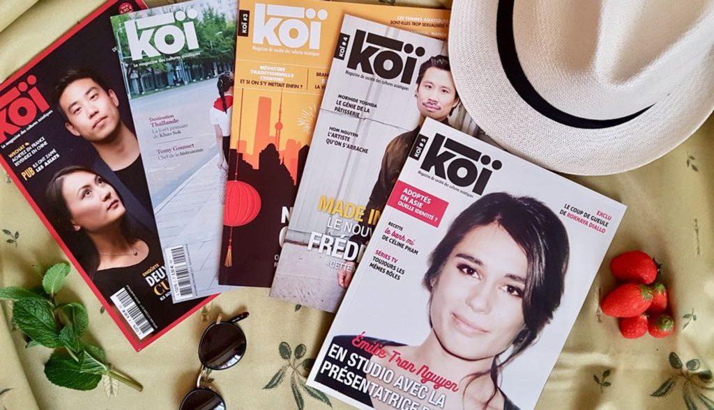 koi est un magazine récent