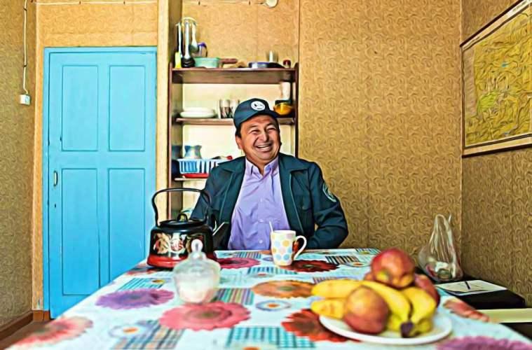 Emil est un ranger d'Asie centrale