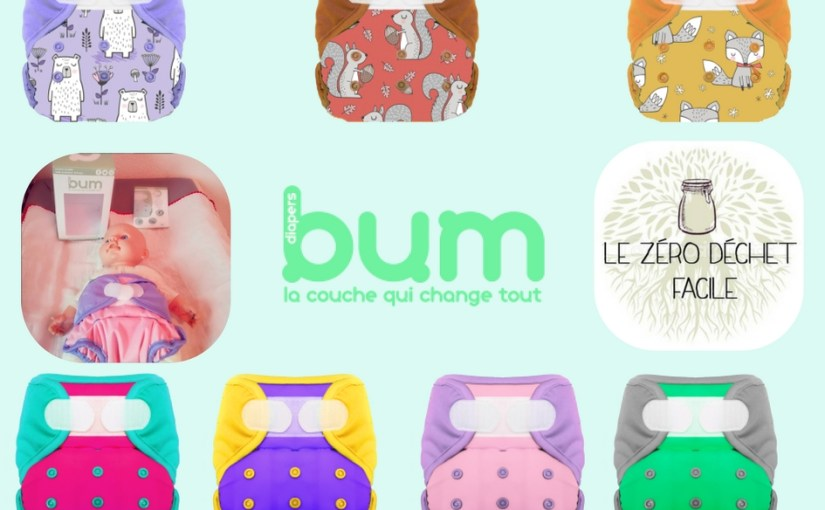 LES COUCHES LAVABLES BUM DIAPERS