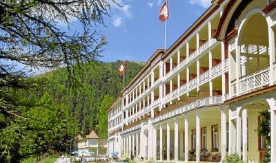 Het echte sanatorium in Davos