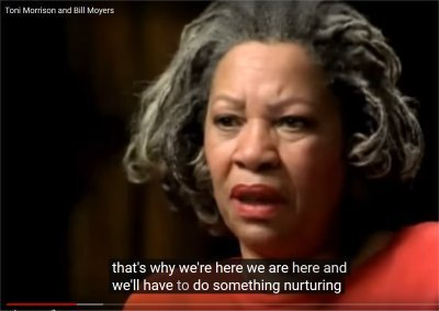 Toni Morrison and Bill Moyers (6:42-7:14)