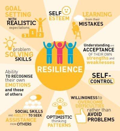 Een willekeurig plaatje om resilience/veerkracht uit te leggen