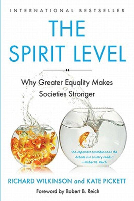 bol.com | The Spirit Level, Richard Wilkinson | 9781608193417 | Boeken