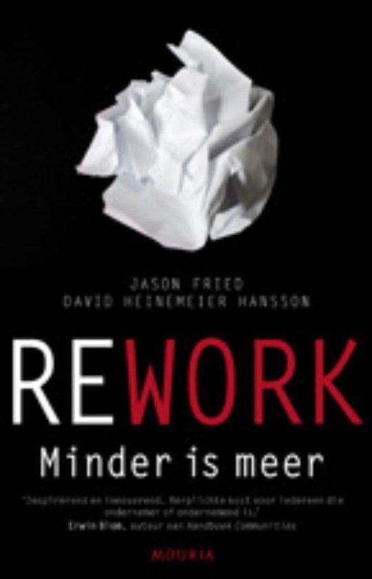 bol.com | Rework - Minder is meer, Jason Fried | 9789045801872 ...