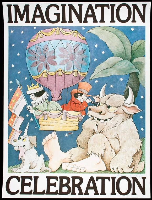 Imagination Celebration - poster signed by Maurice Sendak - Price ...
