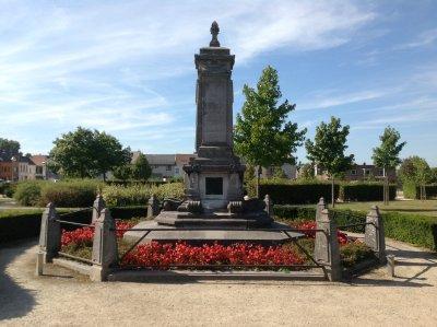 Monument voor Tyndale in Vilvoorde