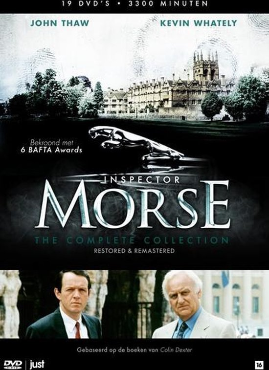 Inspector Morse - Serie 1 t/m/ 7 (Complete collection)
