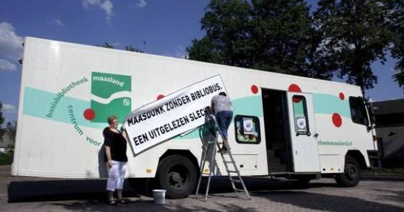Bibliobus stopt al per 1 juli | Oss e.o. | bd.nl