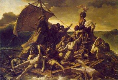 Een ander vlot (uit 1818)