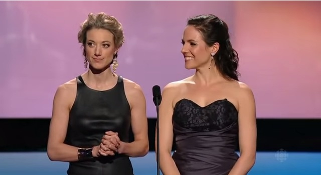 Zoie Palmer Wins A CSA And Thanks Her Partner
