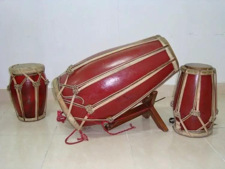 Alat Musik Gendhang Banyuwangi