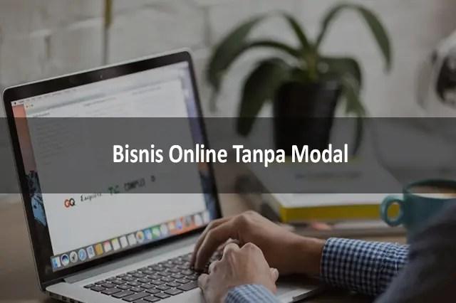 Bisnis Online Tanpa Modal