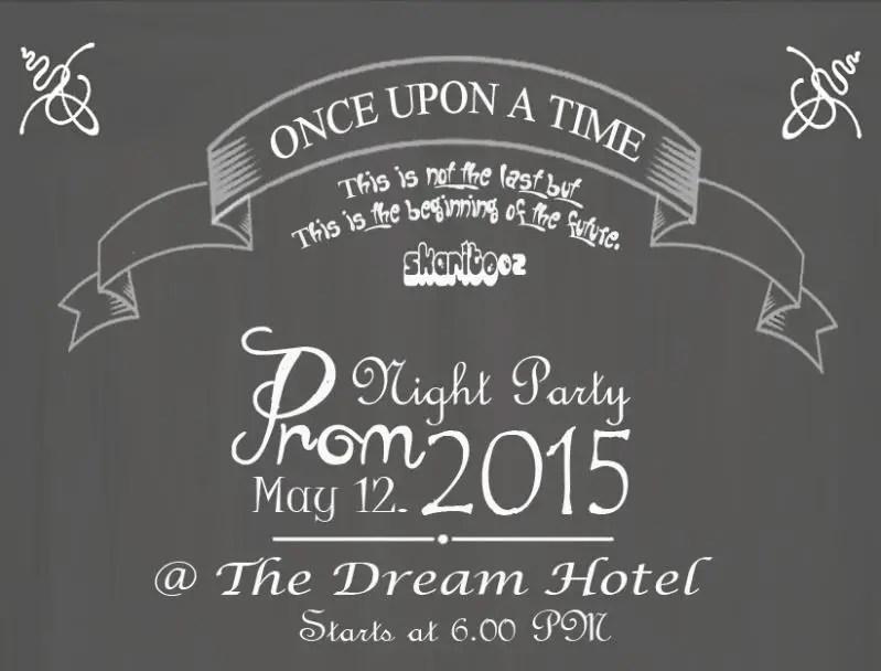 Contoh Surat Undangan Tidak Resmi Untuk Prom Night