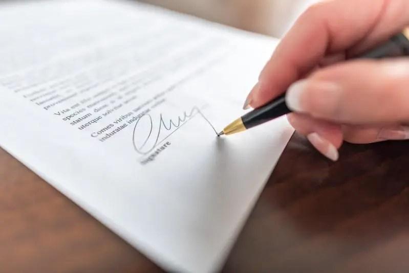 Struktur Surat Pernyataan Perjanjian Pertanggungjawaban