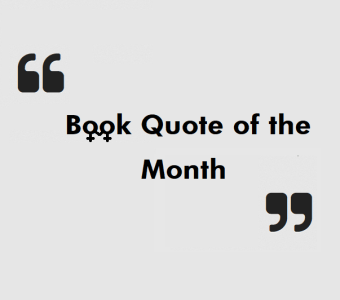 lesbian book quote month