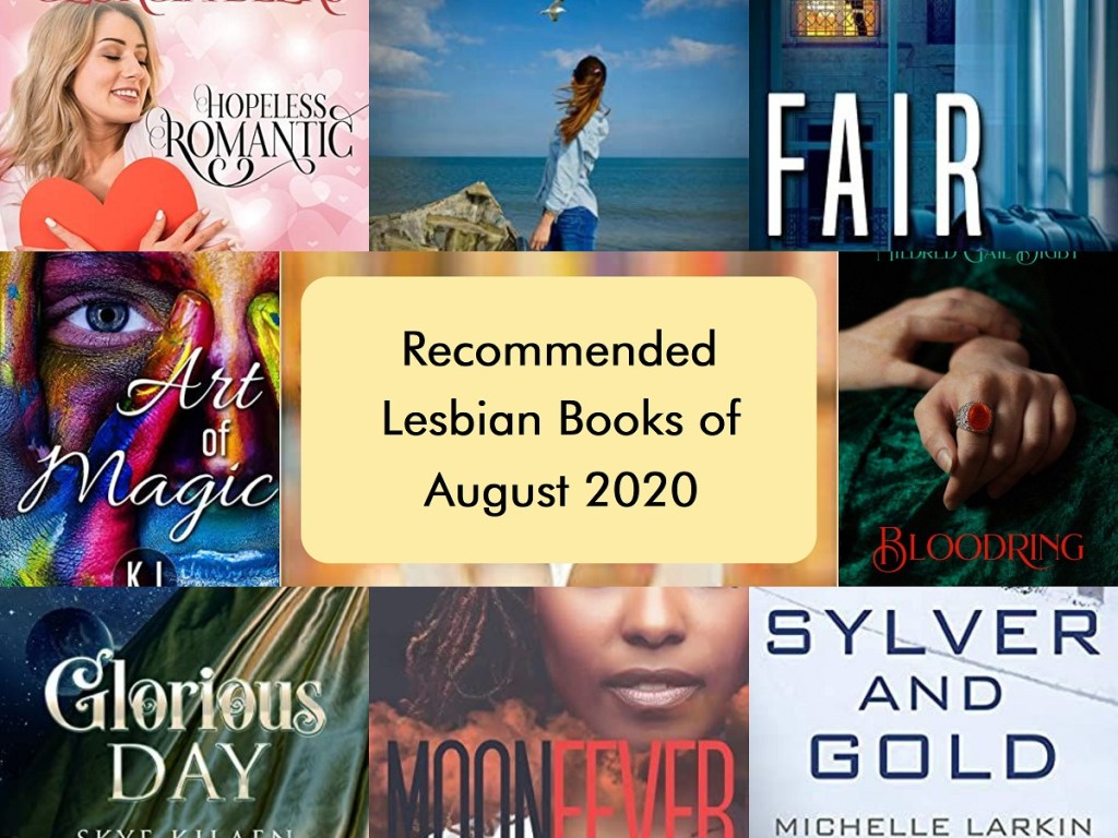 Recommended Lesbian Books for August 2020