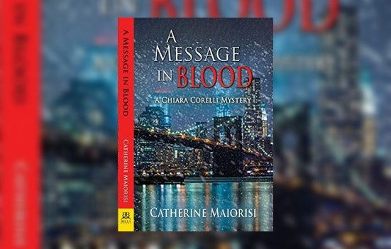 A Message in Blood by Catherine Maiorisi