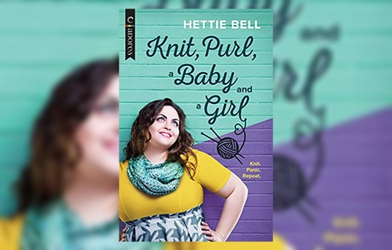 'knit purl a baby and a girl' by hettie bell