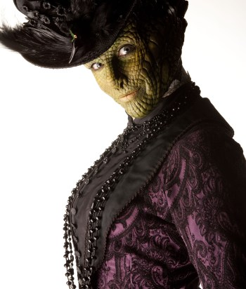 Madame Vastra - Vastra isa Silurian detective who marries a human. Technically she's been on earth longer than humans.