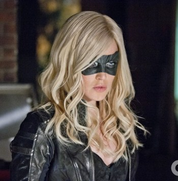 Sara Lance - Schrödinger's bisexual AKA The Black Canary, Canary, andWhite Canary. Sara is captain of a time ship, traveling through space and time to correct broken history, and sleep with women.   458