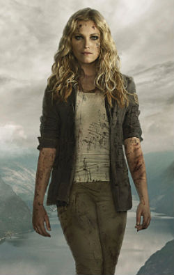Clarke Griffin - Clarke fell from outerspace. Literally. She also happens to be a bisexual, having relationships with two men and two women over the course of three seasons.